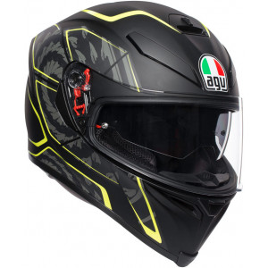 AGV K-5 S Tornado Black/Yellow
