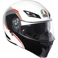 AGV Compact ST Vermont White/Red