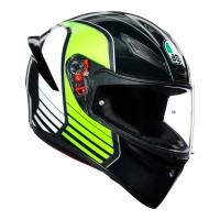 AGV K1 Power Gunmetal/Green