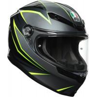 AGV K6 Flash Grey/Black/Lime