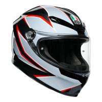 AGV K6 Flash Black/Grey/Red