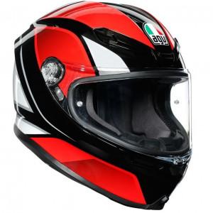 AGV K6 Hyphen Black/Red/White - ETA:  APRIL