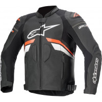 Alpinestars GP Plus R V3 Airflow Leather Black/Fluro Red (Limited sizing available until May 2021)