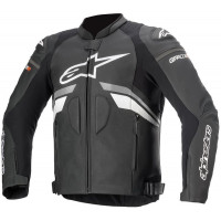 Alpinestars GP Plus R V3 Airflow Black/Grey Leather Jacket