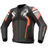 Alpinestars Atem V4 Leather Jacket Black/Fluro Red