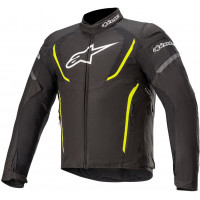Alpinestars T Jaws V3 Waterproof Jacket - Black / Fluro Yellow - ETA: LATE SEPTEMBER