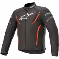Alpinestars T Jaws V3 Waterproof Jacket - Black / Fluro Red - ETA: LATE SEPTEMBER