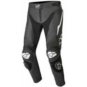 Alpinestars Track V2 Leather Pants Black / White