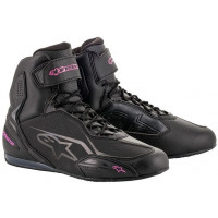 Alpinestars Stella Faster v3 Ladies Ride Shoe - Black/Fuchsia