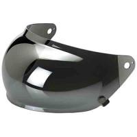 Biltwell Gringo 'S Bubble Chrome  Mirror  Visor
