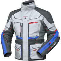 Dririder Vortex Adventure 2 Jacket - Grey/Blue - ETA: MARCH