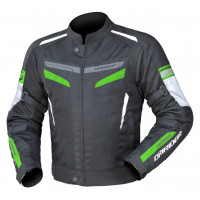 Dririder Air-Ride 5 Jacket - Black/Green - NIL STOCK