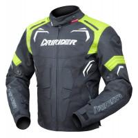 Dririder Redback Jacket - Black/White/Yellow