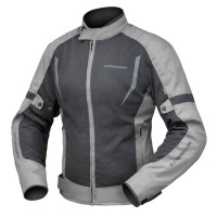Dririder Breeze Ladies Jacket - Black/Grey - ETA: MAY