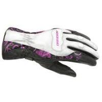 Dririder Vivid 2 Ladies Glove - White/Pink