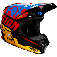 Fox V1 Youth Czar Black / Yellow