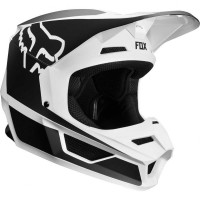Fox V1 Youth Prism Black / White