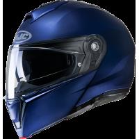 HJC i90 Matt Blue Metallic