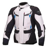 Macna Impact Pro Jacket - Ivory/ Blue