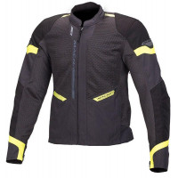 Macna Event Jacket - Ivory/Black/Fluro