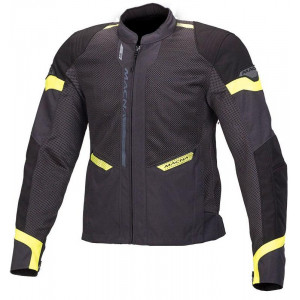 Macna Event Jacket - Ivory/Black/Fluro