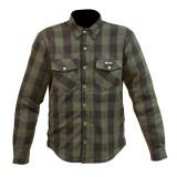Merlin Axe Check Kevlar Shirt - Green