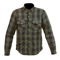 Merlin Axe Check Shirt - Green