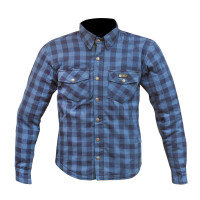 Merlin Axe Check Shirt - Blue