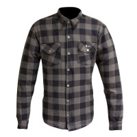 Merlin Axe Check Shirt - Grey