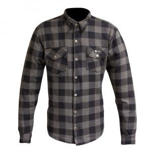 Merlin Axe Check Kevlar Shirt - Grey