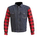 Merlin Haywood Kevlar Jacket - Blue/Red