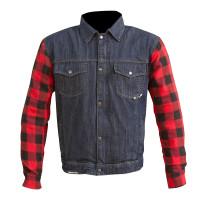 Merlin Haywood Jacket - Blue/Red