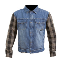 Merlin Haywood  Jacket - Blue/Grey