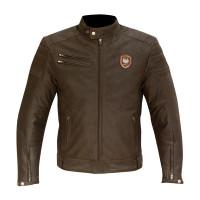 Merlin Alton Leather Jacket -  Brown