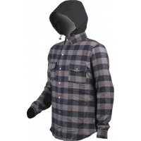 Motodry Kevl-ar Hunter Jacket / Hoody - Black/Grey - LIMITED SIZING