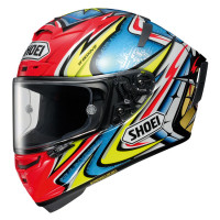 Shoei X-Spirit III Daijiro TC1 + FREE TINT VISOR