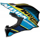 Nolan N53 Flaxy Blue/Yellow