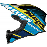 Nolan N53 Flaxy Blue/Yellow - LIMITED SIZING