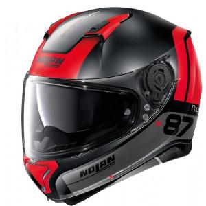 Nolan N87 Plus Distinctive Matt Black/Red