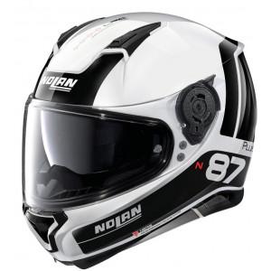 Nolan N87 Plus Distinctive White/Black
