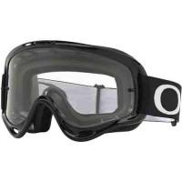 Oakley O-Frame Jet Black MX Goggles - Clear Lens