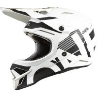 Oneal 3SRS v2 Vertical Black/White