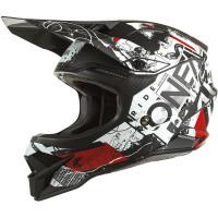 Oneal 3SRS v2 Scarz Black/White/Red
