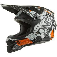 Oneal 3SRS v2 Scarz Black/Grey/Orange