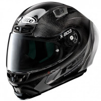 X-Lite X803 RS Carbon Hot Lap Black/Grey  - WITH ADDITIONAL DARK GREEN VISOR