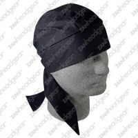 Bandanna, 100% Cotton,  ( Flydanna) Solid Black