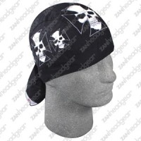 Bandanna 100% Cotton, ( Flydanna) Iron Cross Skull
