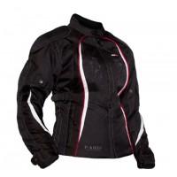 Motodry Paris Ladies Jacket - Black/White