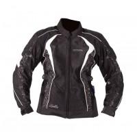 Motodry Bella Ladies Jacket - Black/White