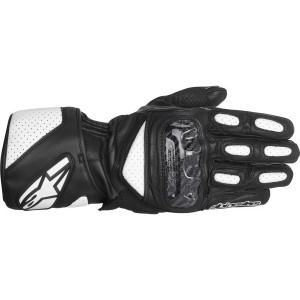Alpinestars SP-2 Glove - Black/White - MEDIUM